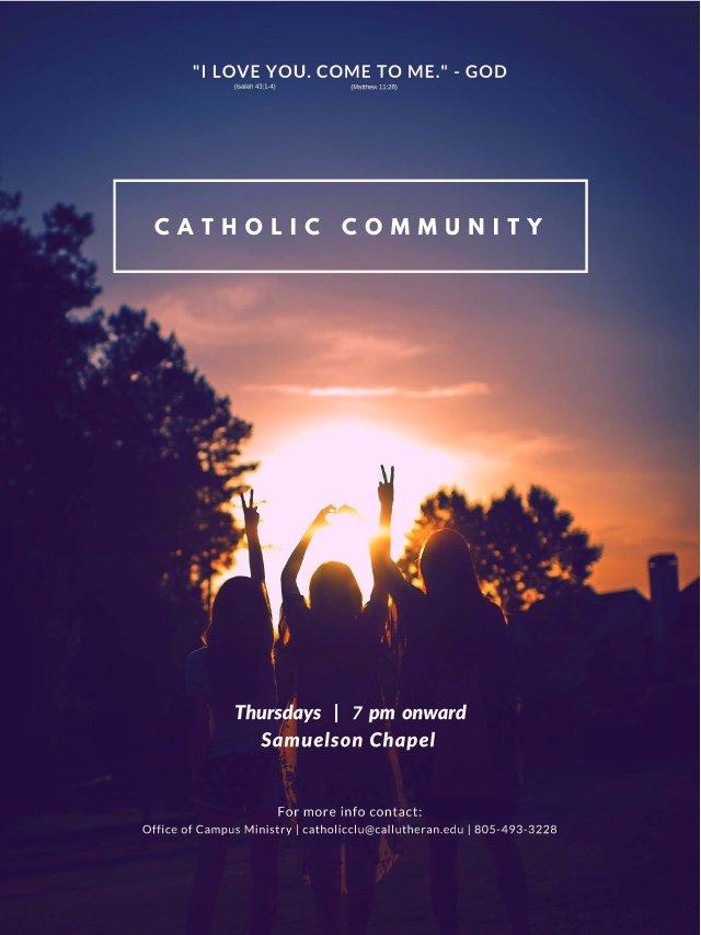 Cal Lutheran Catholic Life