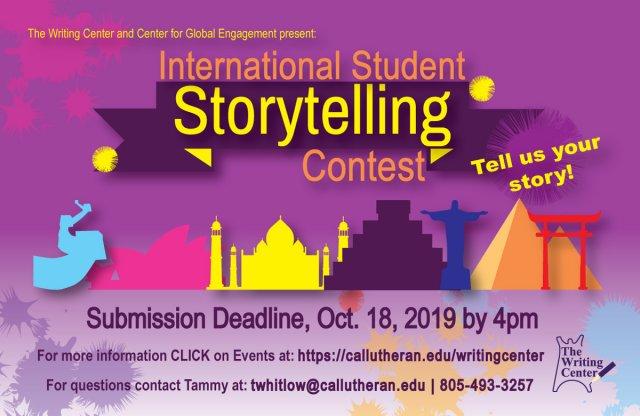 International Student Storytelling Contest