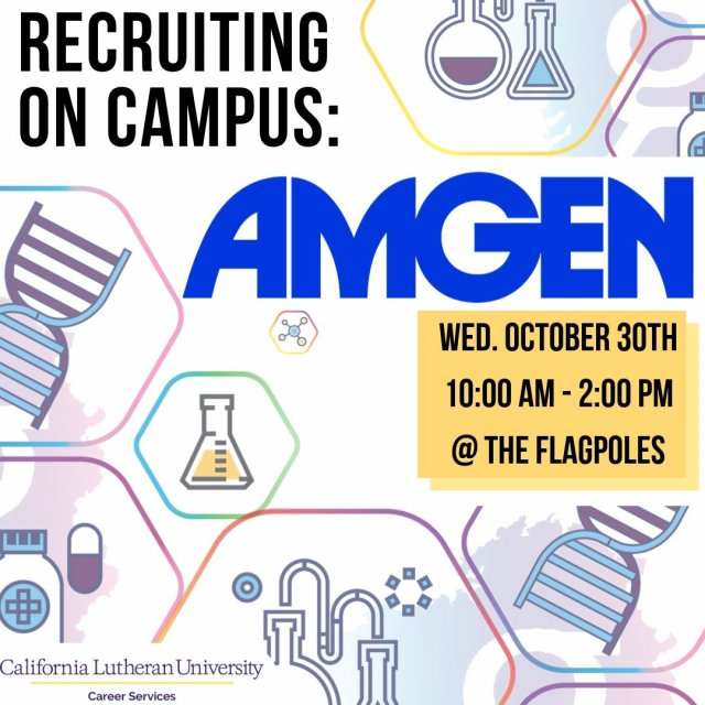 Recruiting on campus: Amgen