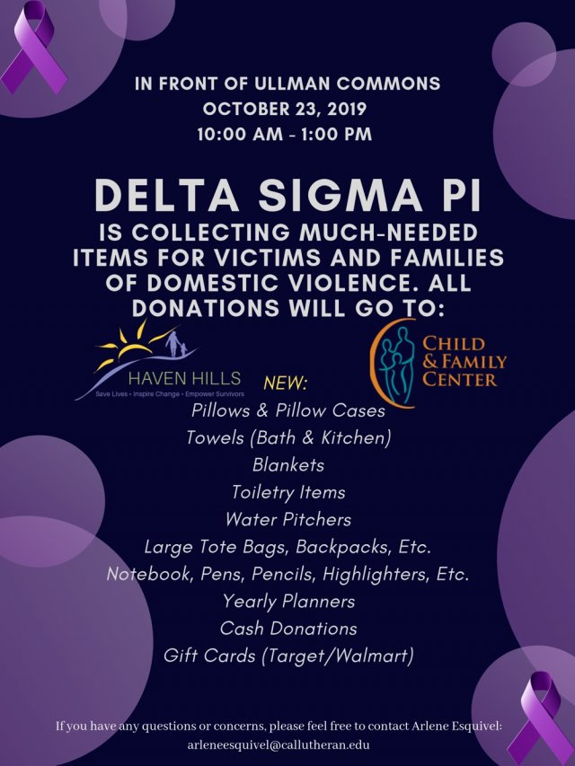 Domestic Violence Victims Collections