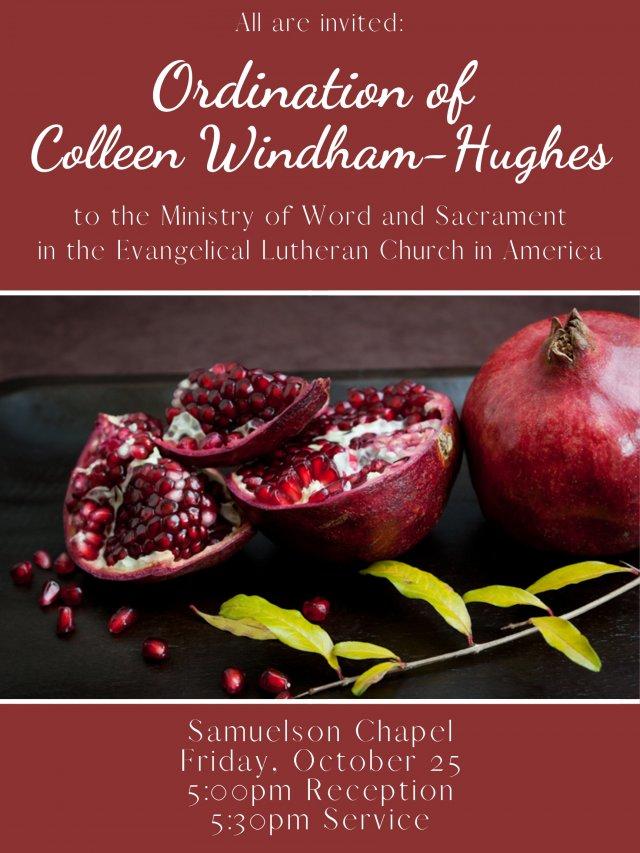 Ordination of Colleen Windham-Hughes