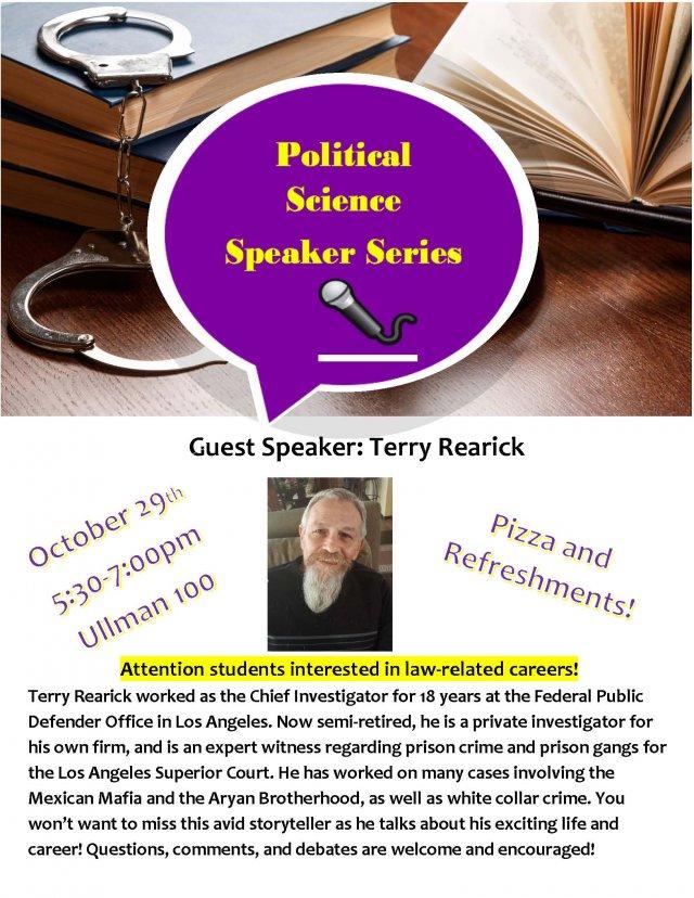 Political Science Speaker Series