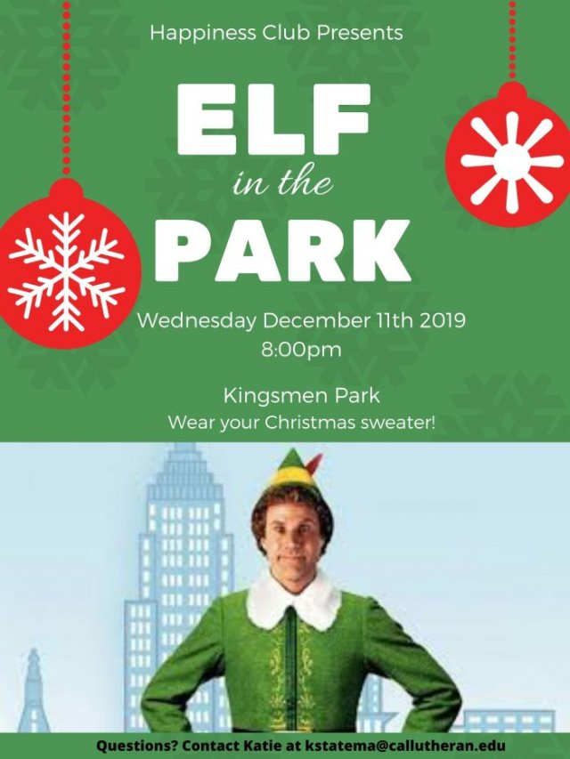 Elf in the Park