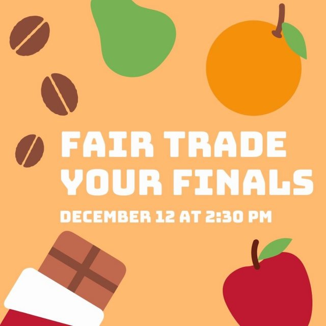 Green Club: Fair Trade Your Finals