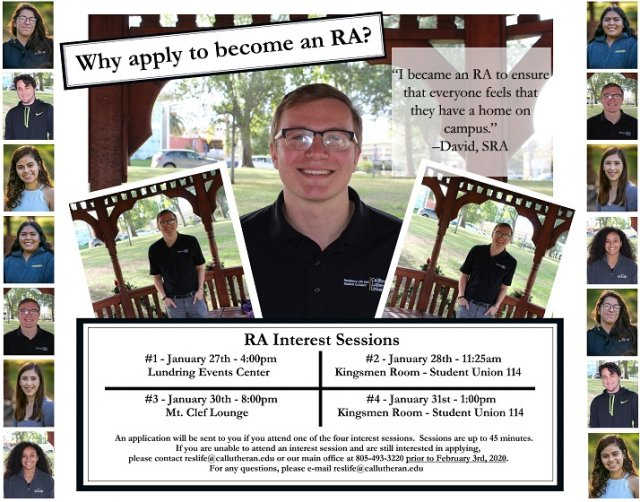 RA Interest Session #4 - 2020