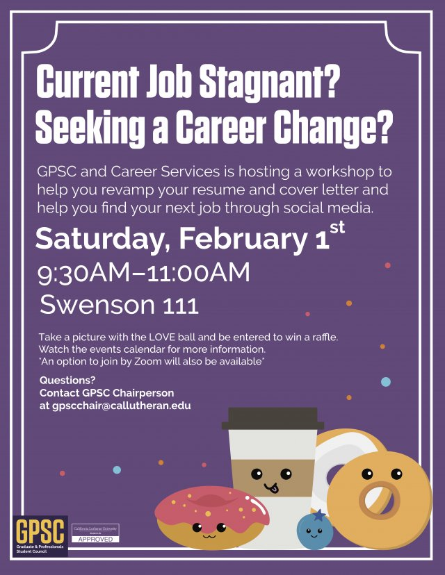 GPSC Career Services Workshop