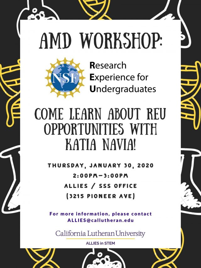AMD Workshop for research experience for Undergraduate students