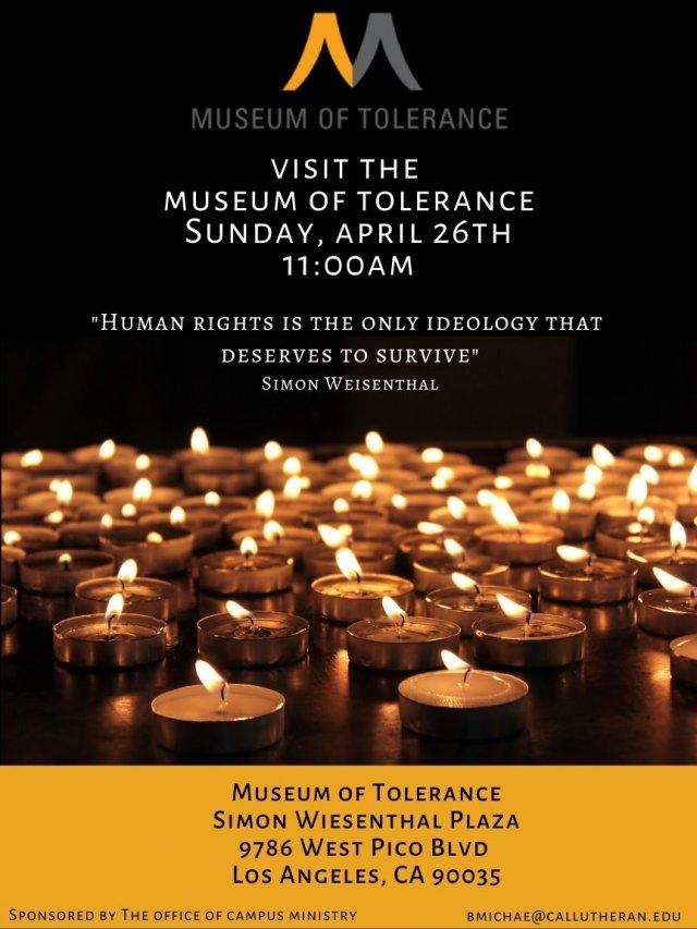 Museum of Tolerance Visit