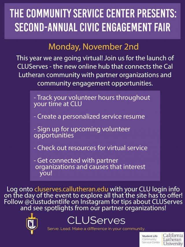 Virtual Civic Engagement Fair