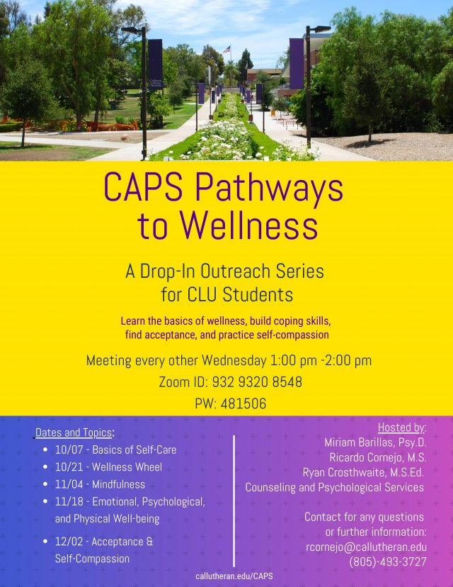 CAPS Pathways to Wellness