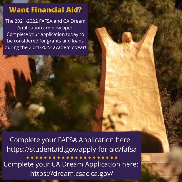 Submit your 2021-2022 Financial Aid Application