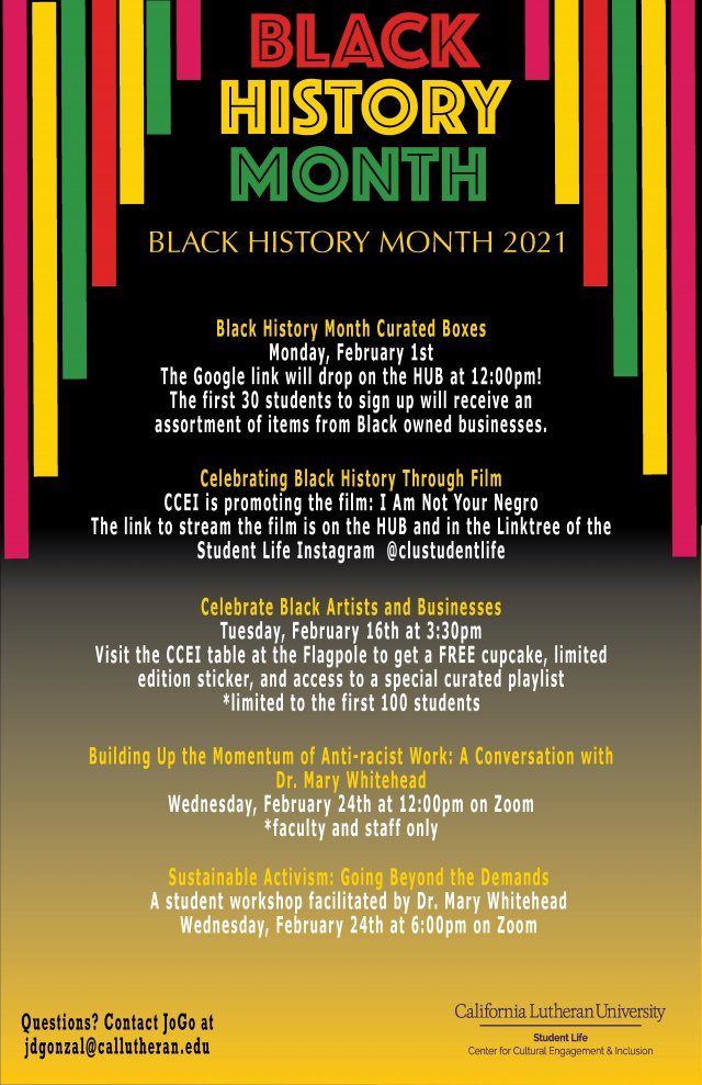 CCEI Celebrates: Black History Month 2021!