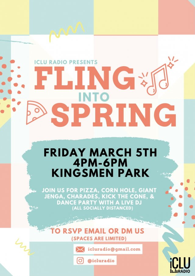 iCLU Radio Presents: Fling into Spring