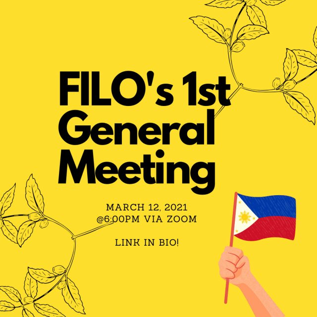 FILO's 1st General Meeting
