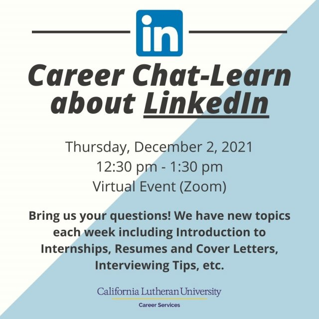 Career Chat-Learn about LinkedIn