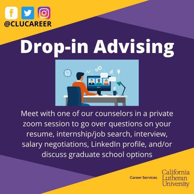Virtual Drop-in Advising