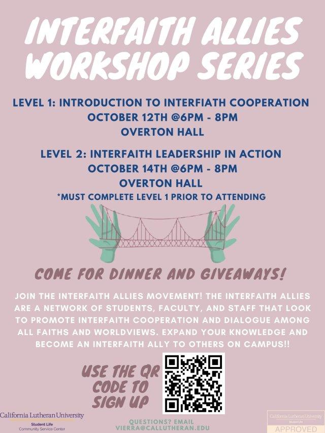 Interfaith Allies Workshop: Level 2
