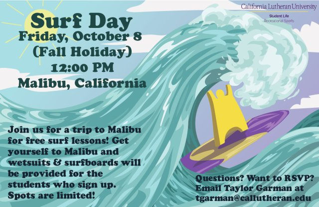 CLU Surf Day