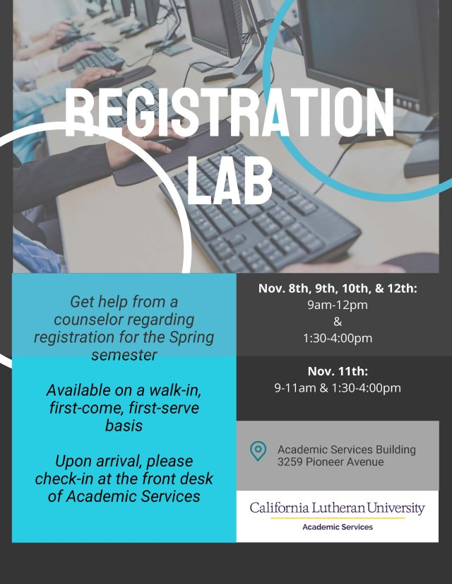 Registration Lab