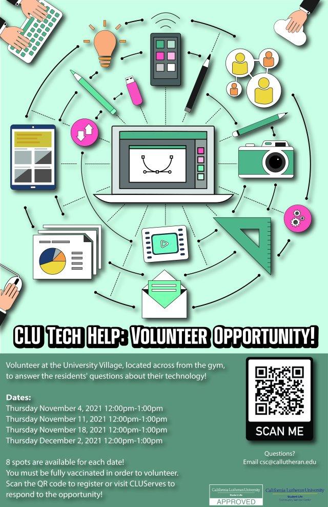 CLU Tech Help