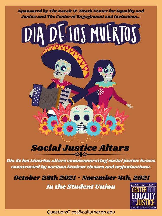 Dia de los Muertos Social Justice Altars