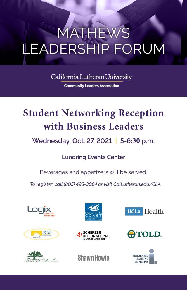 Beverage and Appetizer Networking Reception