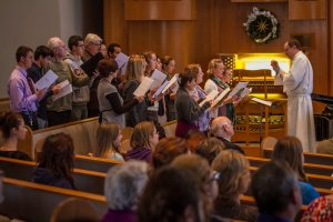 Chapel Choir opening rehearsal