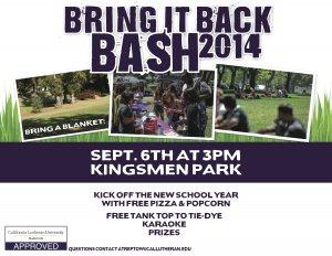Bring It Back Bash