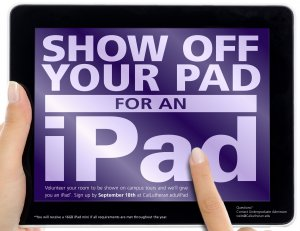 Show us your pad for an iPad!