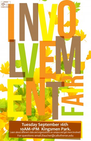 Fall Involvement Fair
