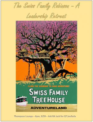 The Swiss Family Robinson - A Leadership Retreat