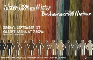 New Student Orientation-Sister From Another Mister, Brother From Another Mother