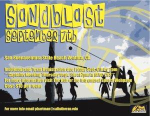 Sandblast Beach Volleyball Tournament 2013