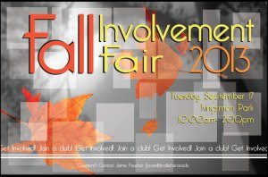 Fall Involvement Fair
