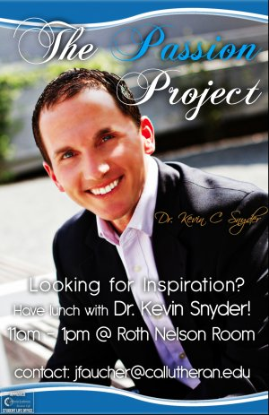 CLU LEAD: Kevin Snyder's Passion Project