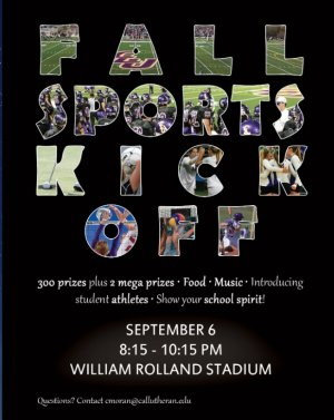 Club Lu: Fall Sports Kick Off