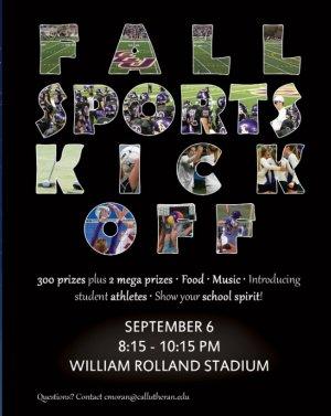 Club Lu: Fall Sports Kick Off