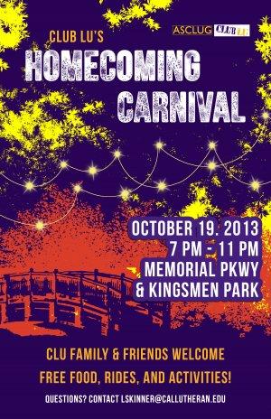 Club Lu: Homecoming Carnival