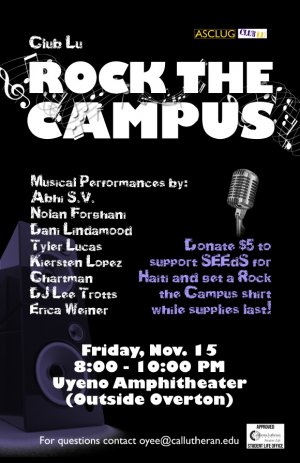 Club Lu: Rock the Campus