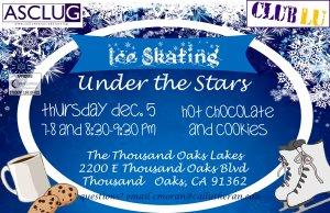 Club Lu: Ice Skating Under the Stars