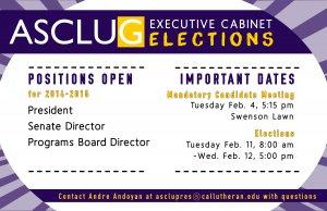 Mandatory Executive Cabinet Candidate Meeting