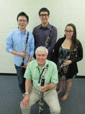 Faculty/Student Clarinet Concert