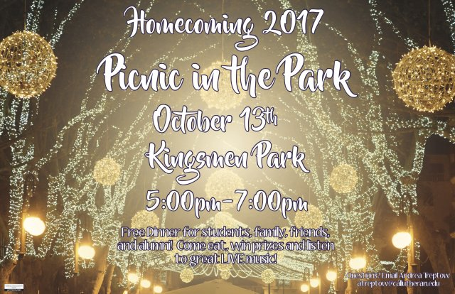 Homecoming: Picnic in the Park