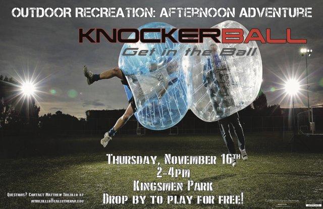 Outdoor Recreation: Afternoon Adventure (Knockerball)
