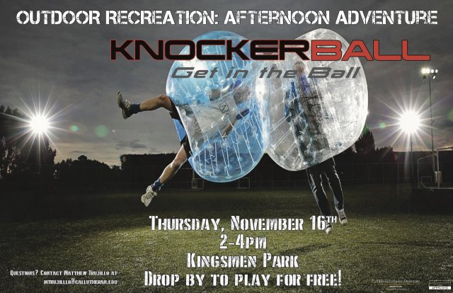 Outdoor Recreation: Afternoon Adventure (Knockerball)
