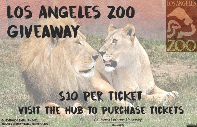 Los Angeles Zoo Get-A-Way