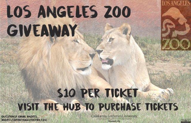 Los Angeles Zoo Get-A-Way