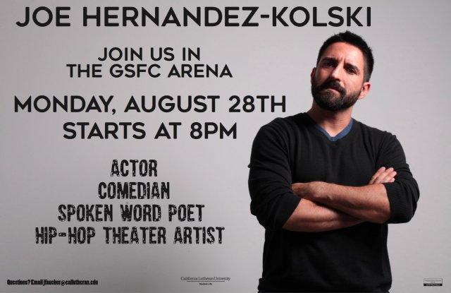 Diversity Speaker: Joe Hernandez-Kolski
