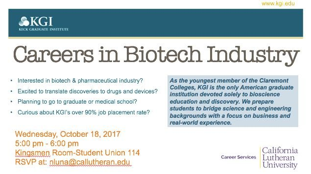 Life Sciences Graduate Programs Info Session