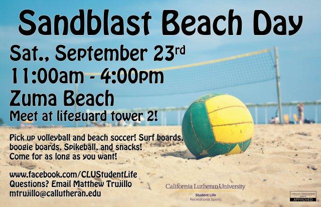 Sandblast Beach Day